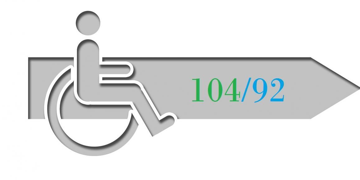 La legge 104 e i permessi retribuiti vademecum dei for Legge 104 agevolazioni fiscali elettrodomestici